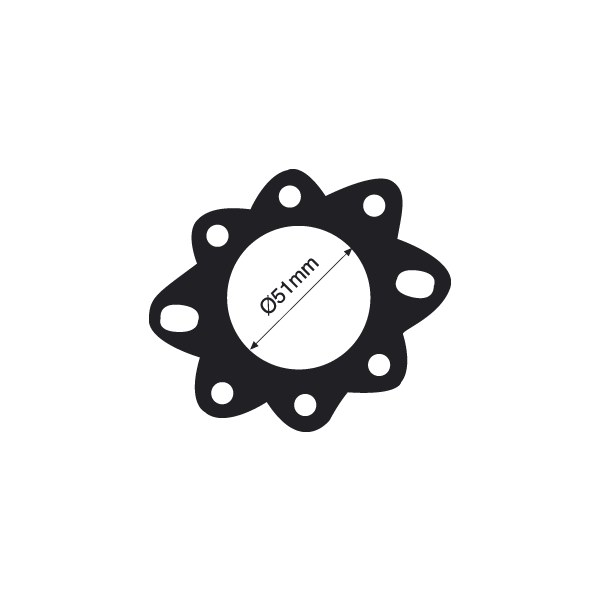 Tridon Thermostat Gasket Paper Style Gasket. Self Adhesive Back. - TTG29U