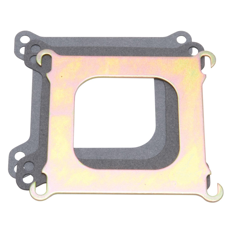 Edelbrock 2732 Square-Bore to Spread-Bore Adapter Plate .100