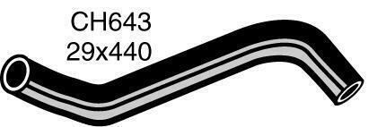 Mackay CH643 Radiator Hose (Bottom)
