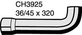 Mackay CH3925 Radiator Hose (Bottom)