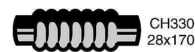 Mackay CH330 Radiator Hose (Radiator)
