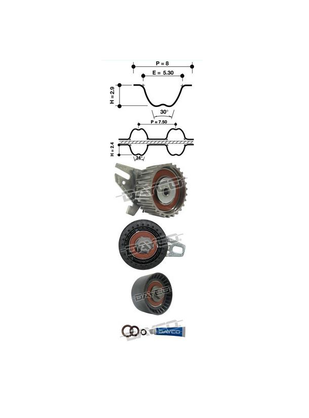 Dayco KTB329E Timing Belt Kit