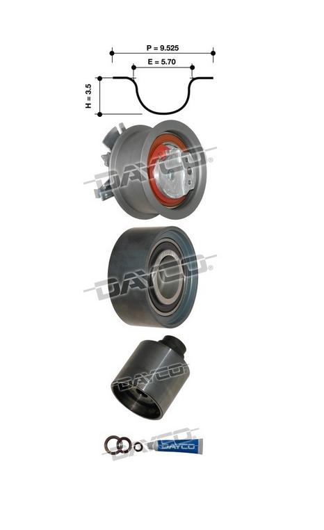 Dayco KTB441E Timing Belt Kit