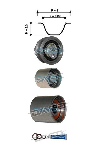 Dayco KTB614E Timing Belt Kit