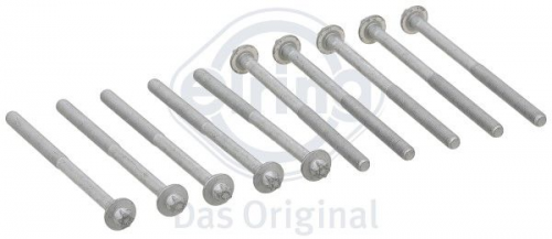 Details about Elring Head Bolts suits Mercedes-Benz S63 AMG (C216) M156 984  (years: 4/07-10/10