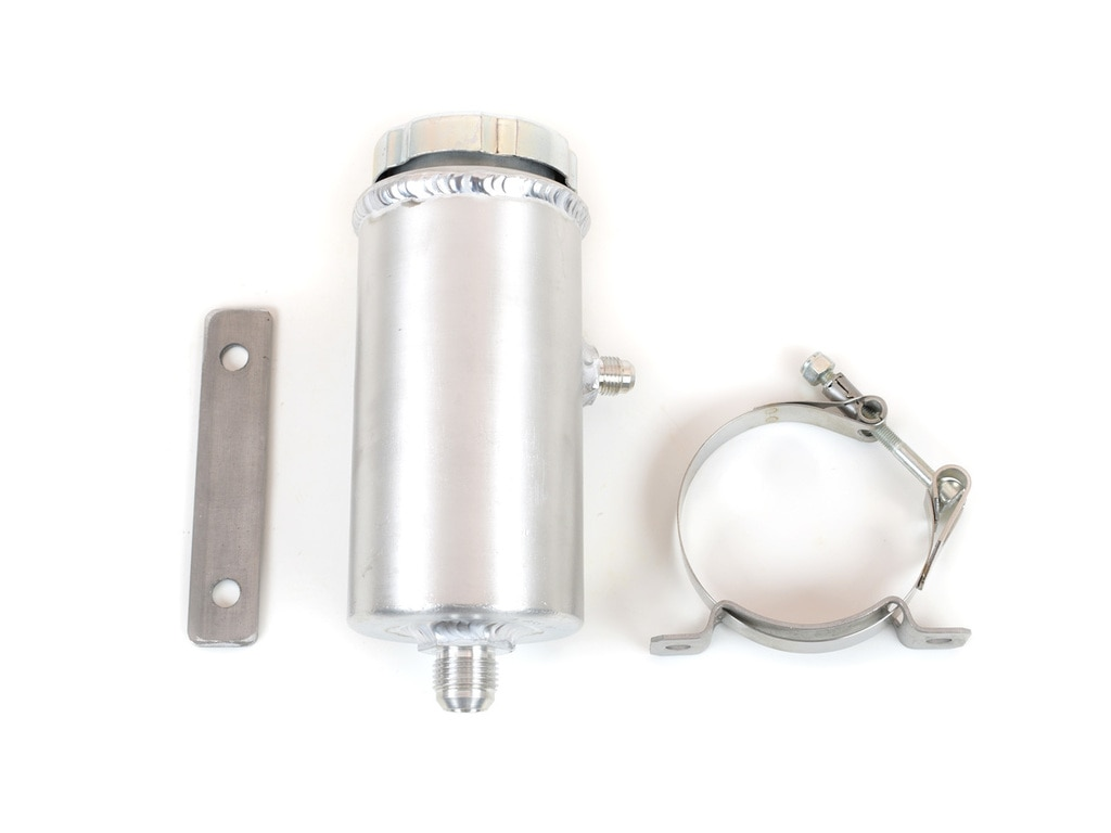 Canton Racing Products 77-252 Aluminum Power Steering Tank Universal -10AN and - 6AN Fittings