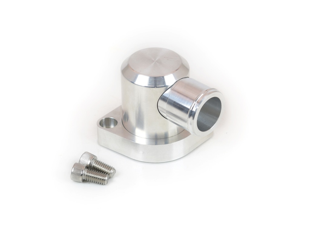 Canton Racing Products 80-051 Billet Aluminum Swivel Water Neck 90 Degree Outlet For Pontiac