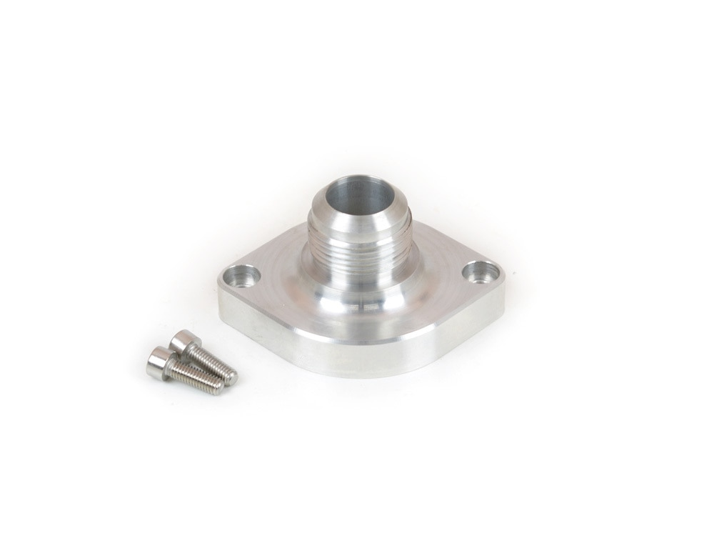 Canton Racing Products 80-032 Billet Aluminum Straight Water Neck GM LS1 and LS6 -16AN Thread